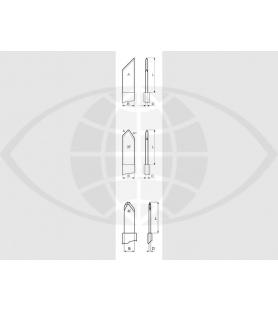 Tunnelmesser mit 19 Facetten