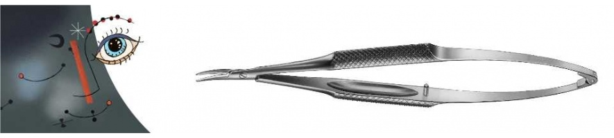 Nadelhalter gebogen ohne Sperre